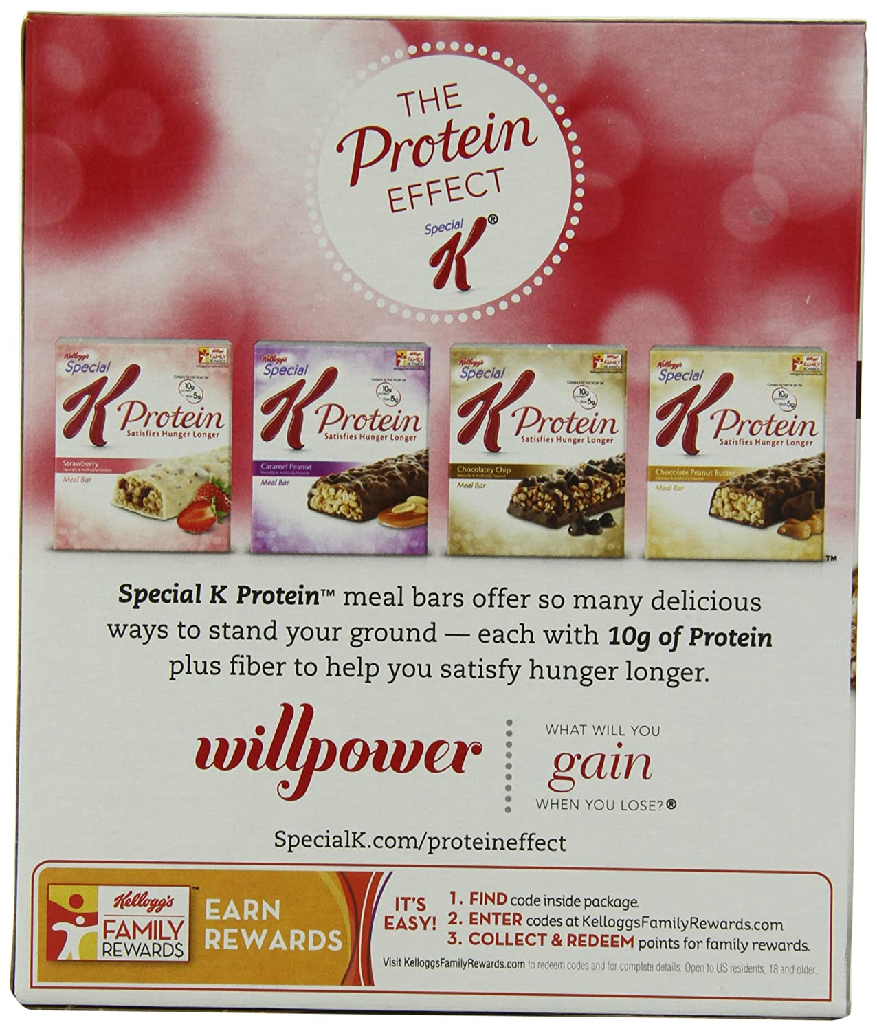 Special K Protein Meal Bar, Double Chocolate, 6-Count Boxes (Pack ...