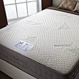 Happy Beds Bamboo Vitality 2000 Memory Foam Pocket Sprung Mattress - Small Double