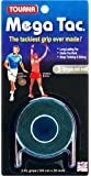 Tourna Grip Mega Tac Cartela com 3 Unique - Tourna Bola de tênis Unissex 3 peças Preto