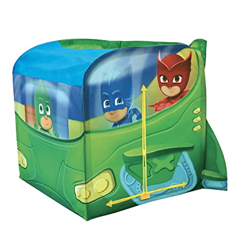 Playhut PJ Masks EZ Vehicle Gekko Mobile Play Tent Playtent