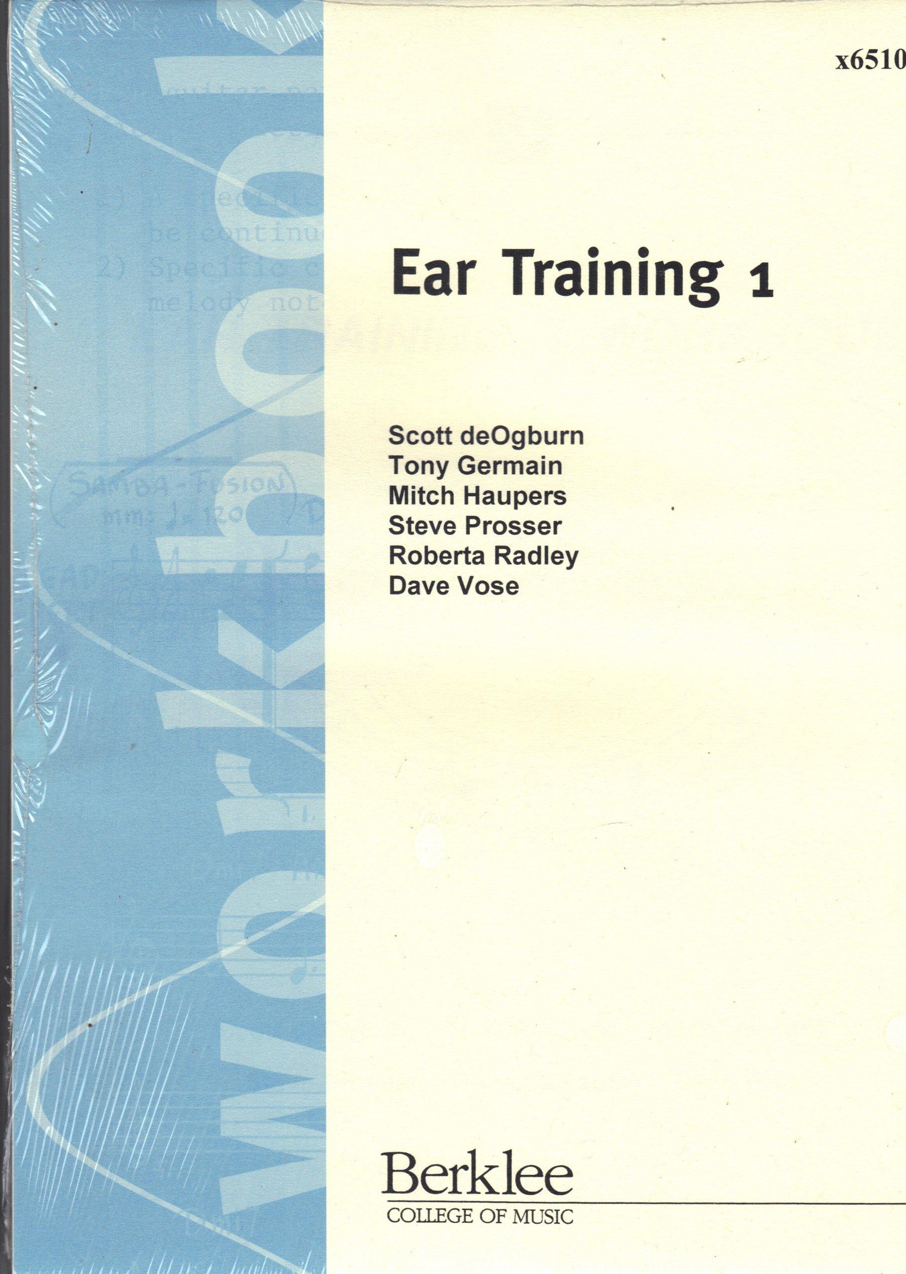 ear training 1 2 3 4 berklee college of music