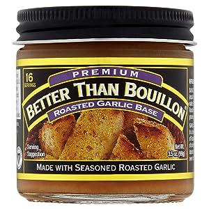 Better Than Bouillon Roasted Garlic Base, 3.5 Ounce
