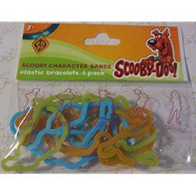 SCOOBY-DOO CHARACTER SILLY BANDZ PACK: Toys & Games