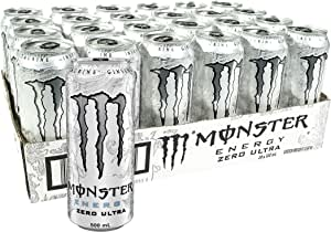 Monster Energy Drink Zero Ultra 24 x 500mL