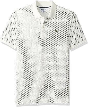 Lacoste Hombre PH9427-51 Manga corta Camisa polo - Blanco - X ...