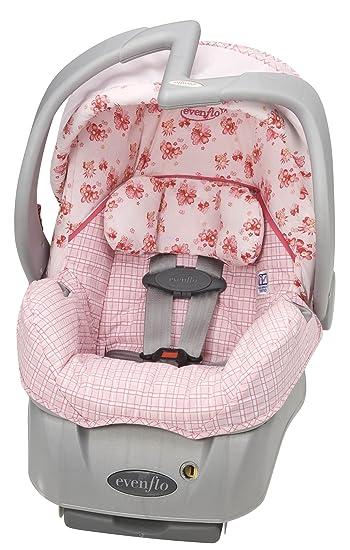 Evenflo Embrace LX Infant Car Seat Little Pink Kisses Discontinued By Manufacturer