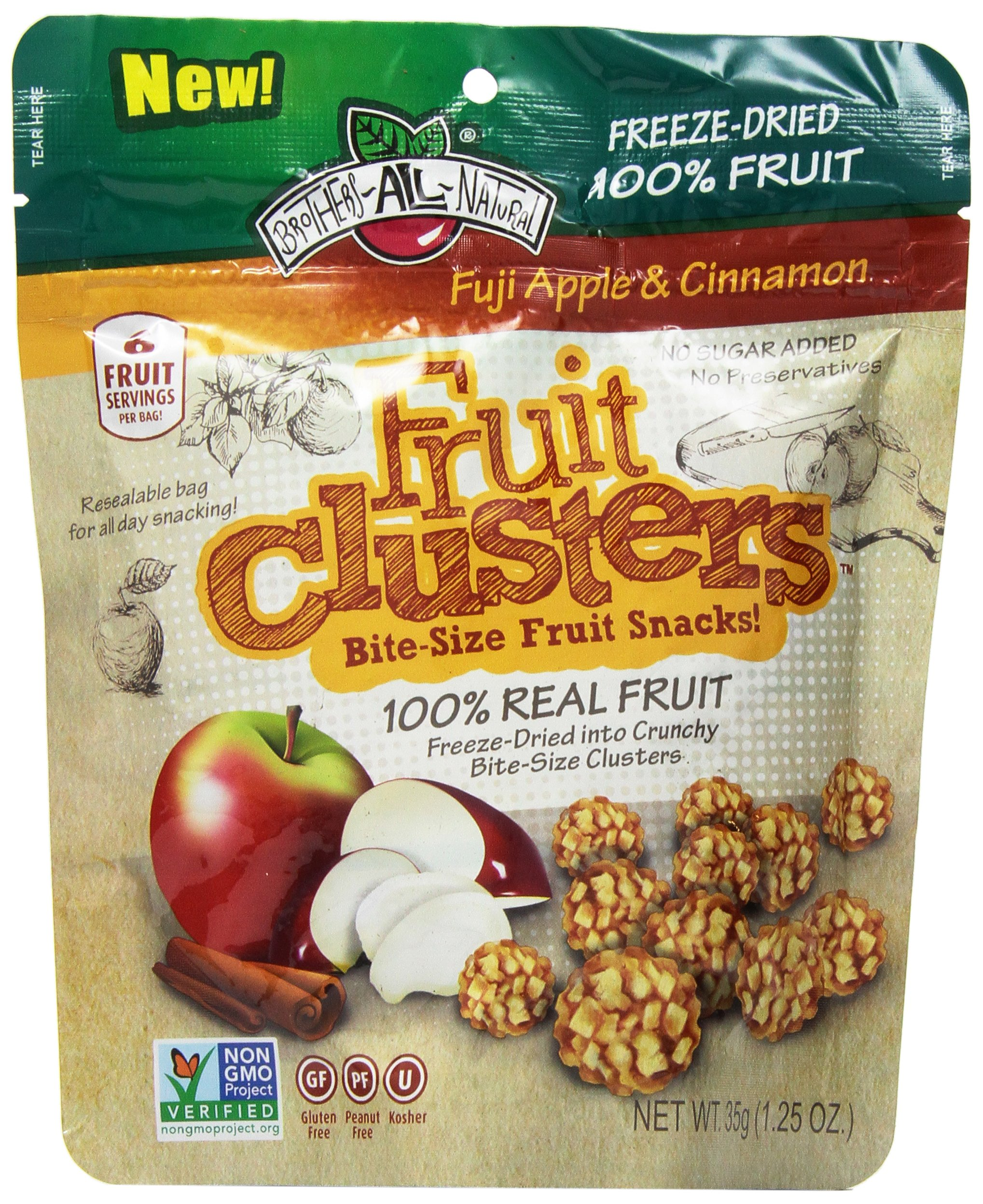 Brothers-ALL-Natural Fuji Apple & Cinnamon, 1.25 Ounce