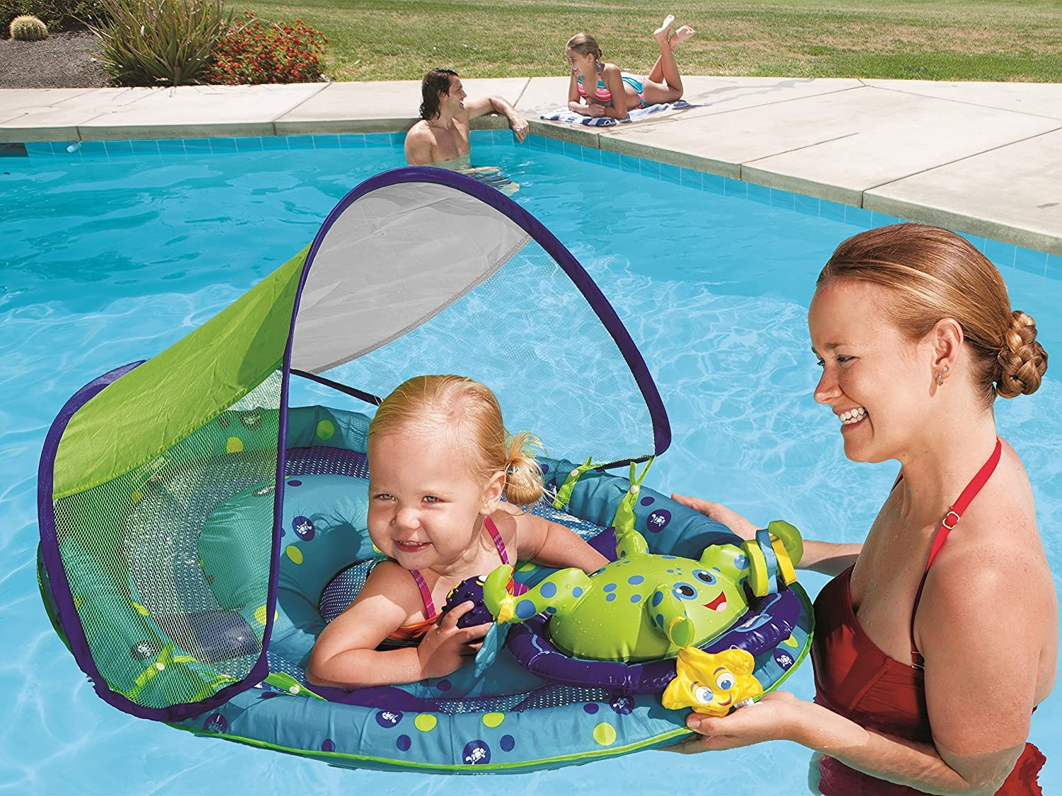 Baby Pool Float Infant Toddler Swim Ring Water Swimming Seat Inflatable Chair Ebay