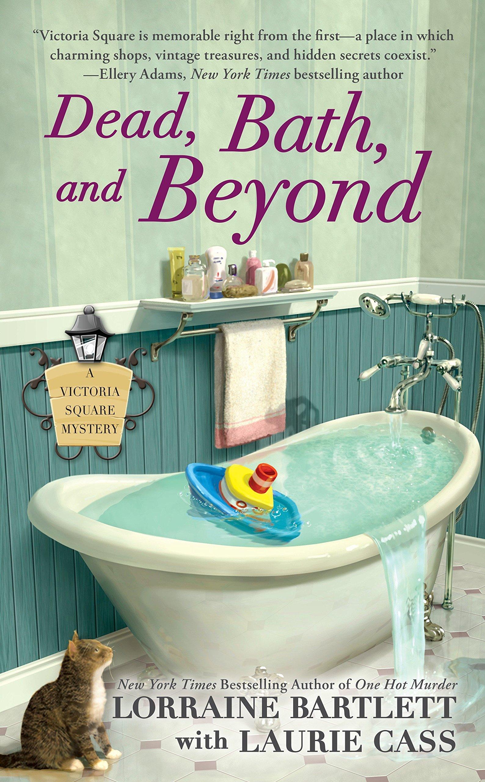 Amazon.com: Dead, Bath, and Beyond (Victoria Square Mystery ...