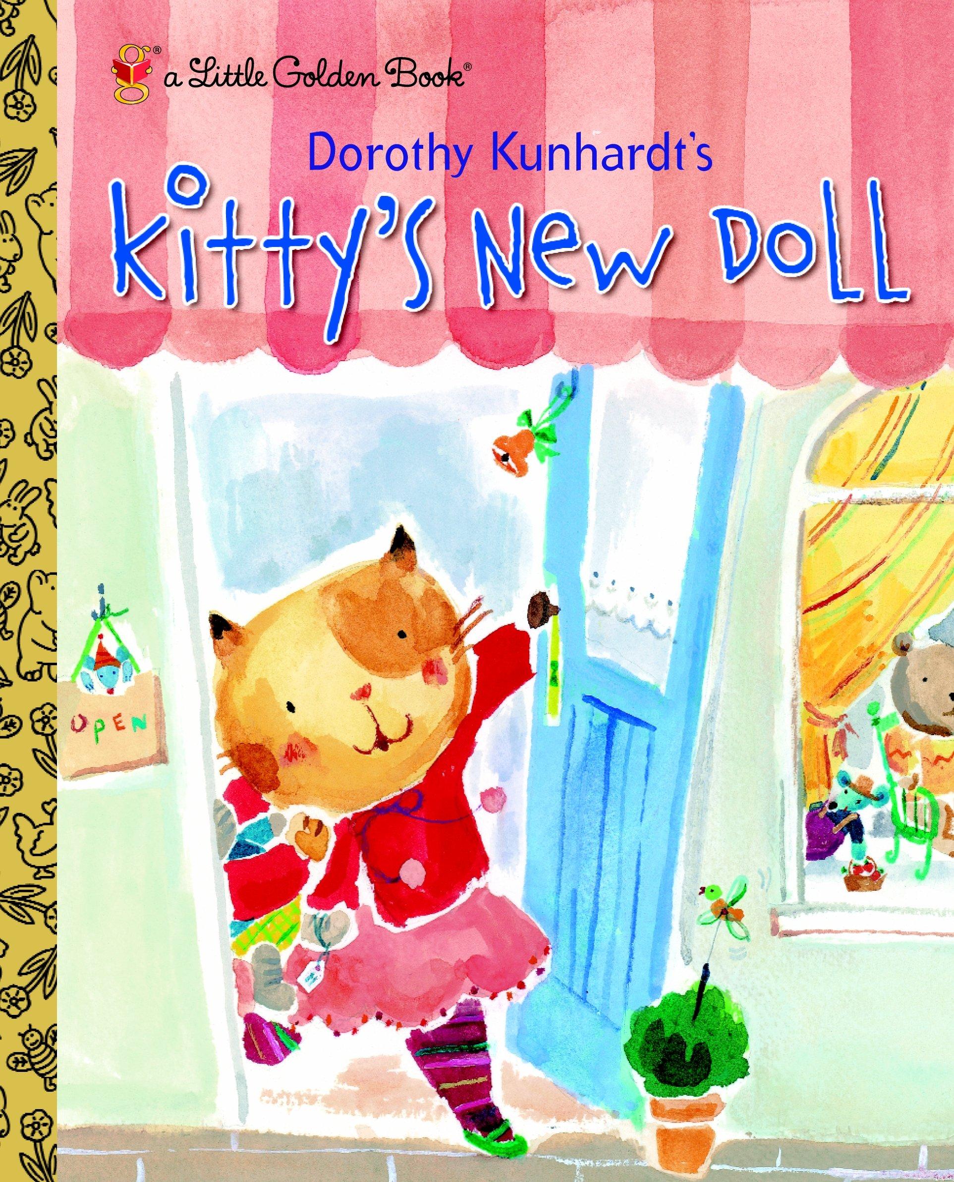 Kitty's New Doll (Little Golden Book)