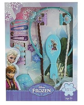 Disney Frozen , T14991 , Grand Set D\u0027accessoires pour Cheveux , Reine des  Neiges