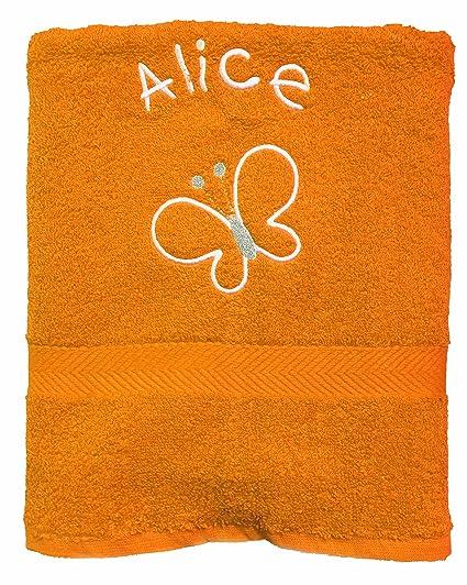 Spoilt Rotten – Exclusivo Bold diseño de mariposas personalizada toalla de baño (cualquier nombre con