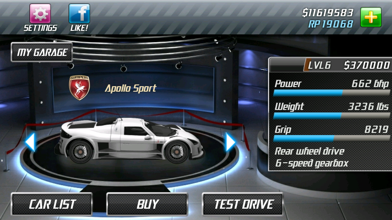 Amazon.com: Drag Racing Classic: Appstore for Android