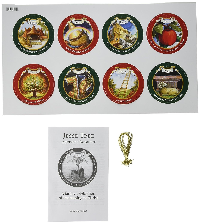 Amazon.com: Abbey Gift Jesse Tree Activity Kit: Home & Kitchen