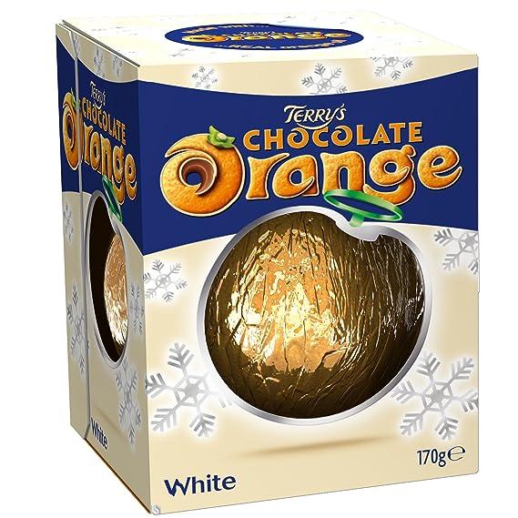 Terrys Chocolate Orange White 175g Amazoncouk Grocery