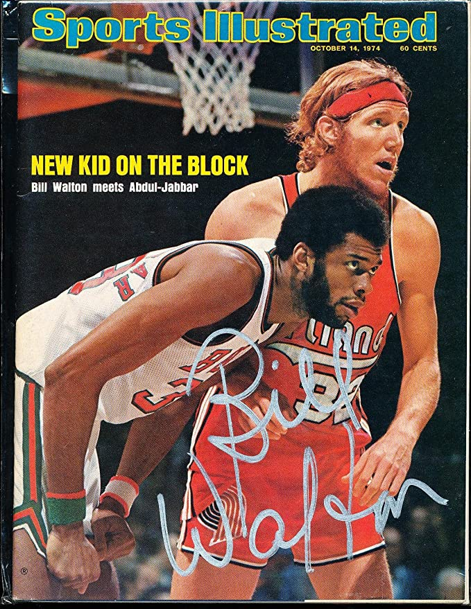 35b534dc739 1974 10/14 Signed Sports Illustrated Bill Walton no label - PSA/DNA  Certified - Autographed NBA Magazines at Amazon's Sports Collectibles Store