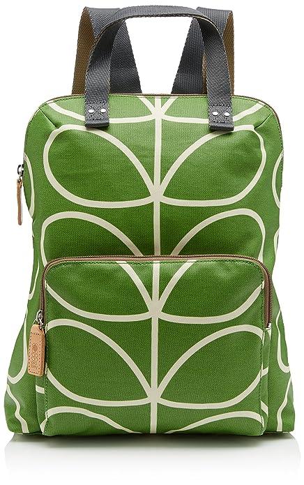 a466f57adcbd Orla Kiely Womens Stem Print Backpack Handbag Apple  Amazon.co.uk ...