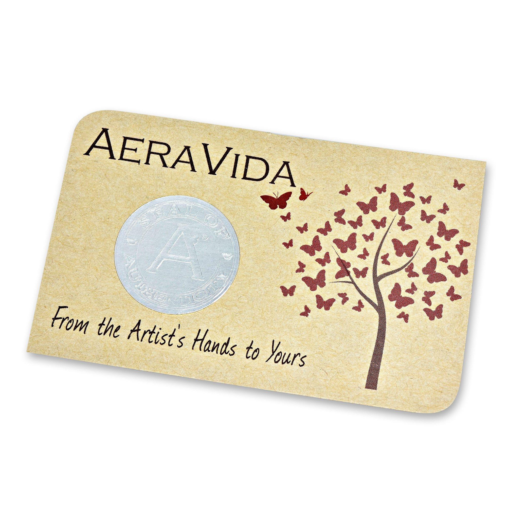 AeraVida Green Leather Mix Stones Chain Link Triple Wrap Bracelet by AeraVida (Image #3)