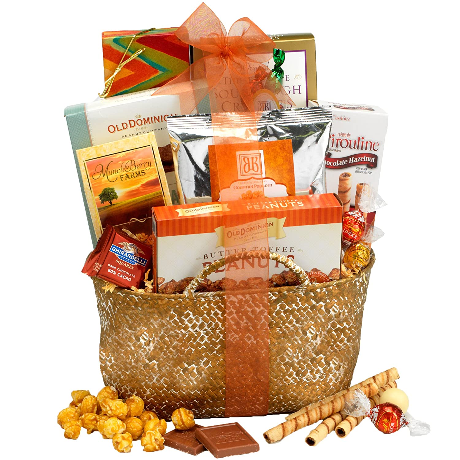 Amazon Broadway Basketeers Happy Birthday Kosher Gourmet Gift Basket Snacks And Hors Doeuvres Gifts Grocery Food