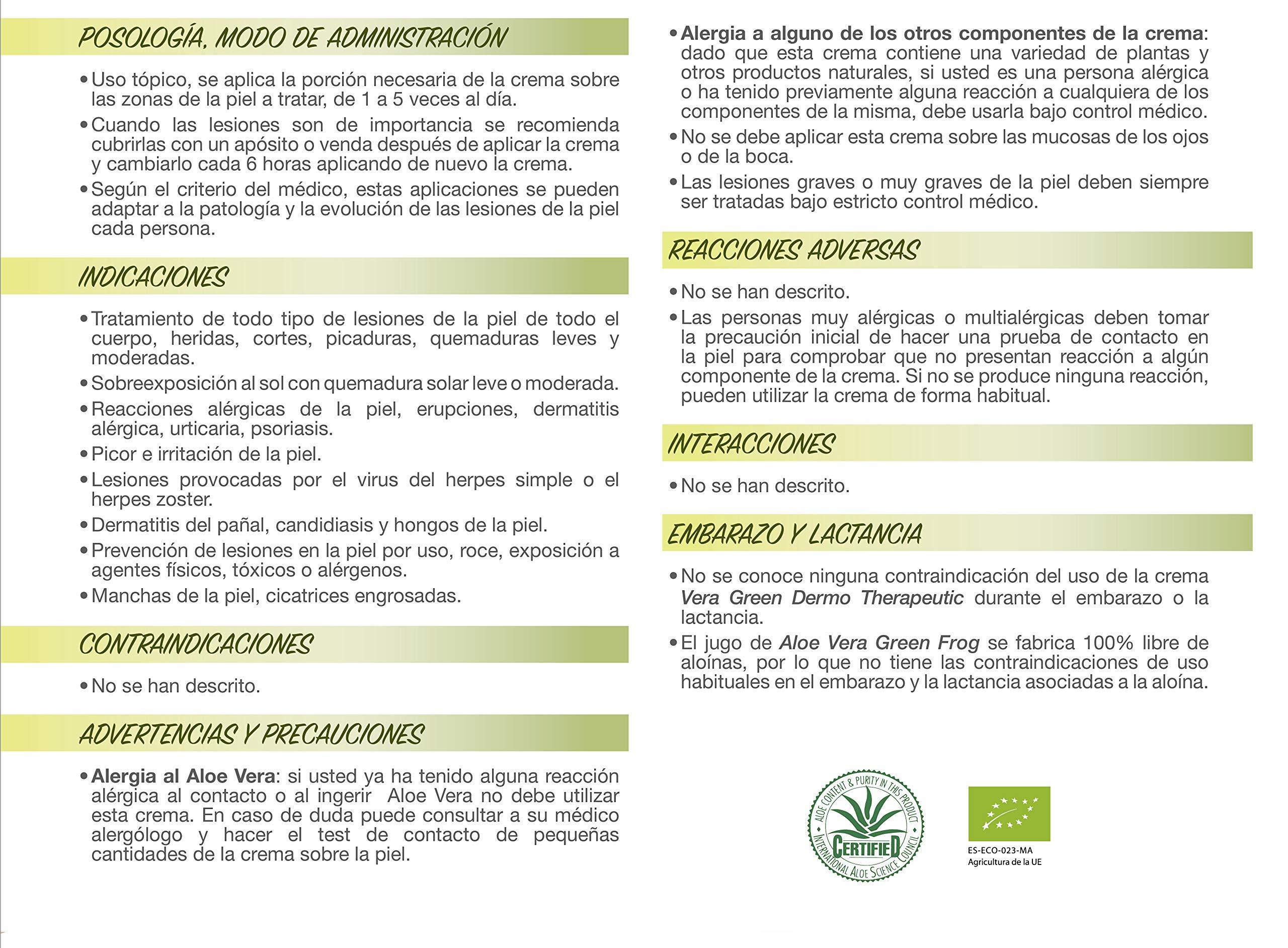 Amazon.es: GREEN FROG: CREMAS ALOE VERA