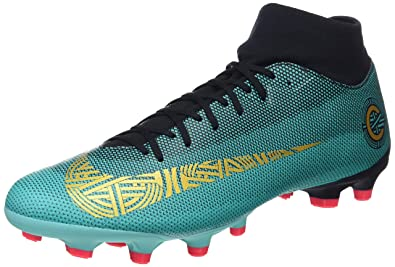 sports shoes dcb4e 01e6f Nike Mercurial Superfly VI Academy Cr7, Chaussures de Football Homme,  Turquoise (Clear Jade
