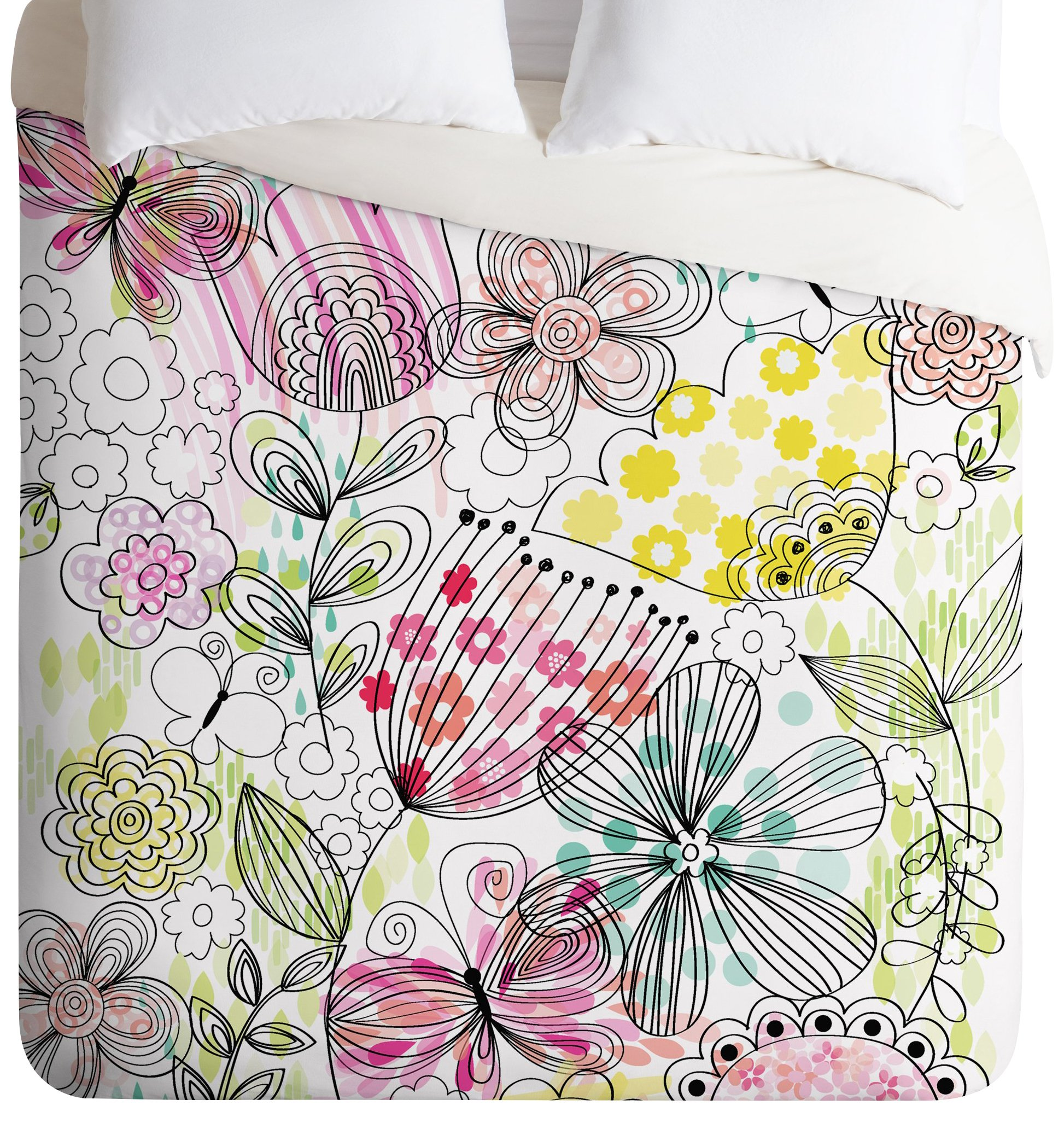 Deny Designs Mary Beth Freet Its a Girl Thing Duvet Cover, Queen