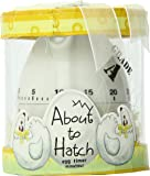 "Kate Aspen ""About To Hatch"" Kitchen Egg Timer in Showcase Gift Box, Yellow"