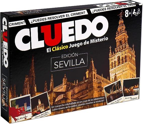Winning Moves Cluedo Sevilla (10209), multicolor (ELEVEN FORCE: Amazon.es: Juguetes y juegos