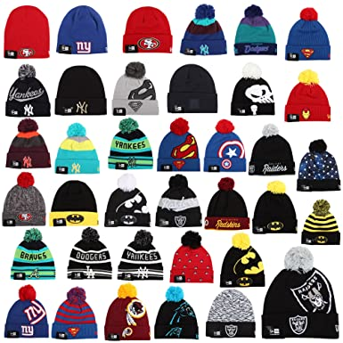 New Era Beanie Winter Hat Cap Unisex Oakland Raiders New York Yankees  Batman Superman Marvel etc - Atlanta Braves  Z31 111aa5f9239