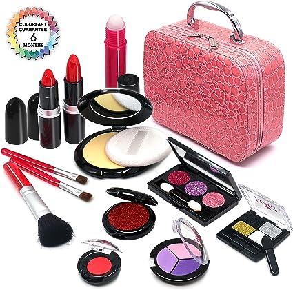 Amazon.com: Senrokes Pretend Maquillaje para Niños ...