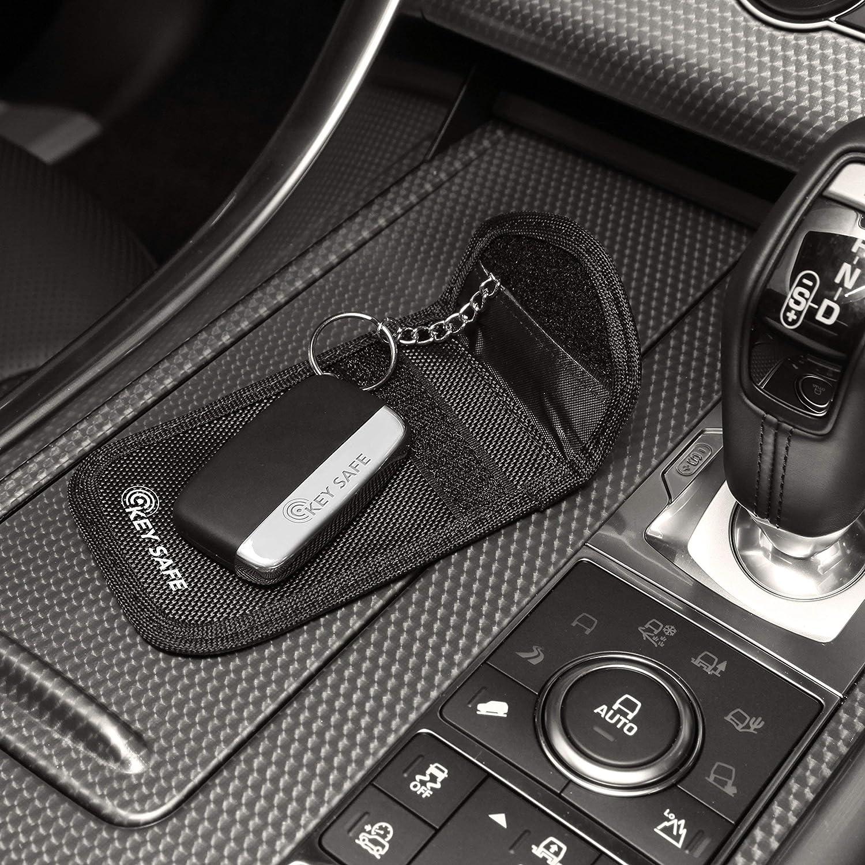 2 x Keyless Auto Schlüssel Signal Jammer Blocker Key Ring Faraday
