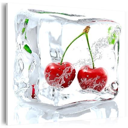Pinturas en vidrio Cuadro de cristal vidrio cristalino fruta