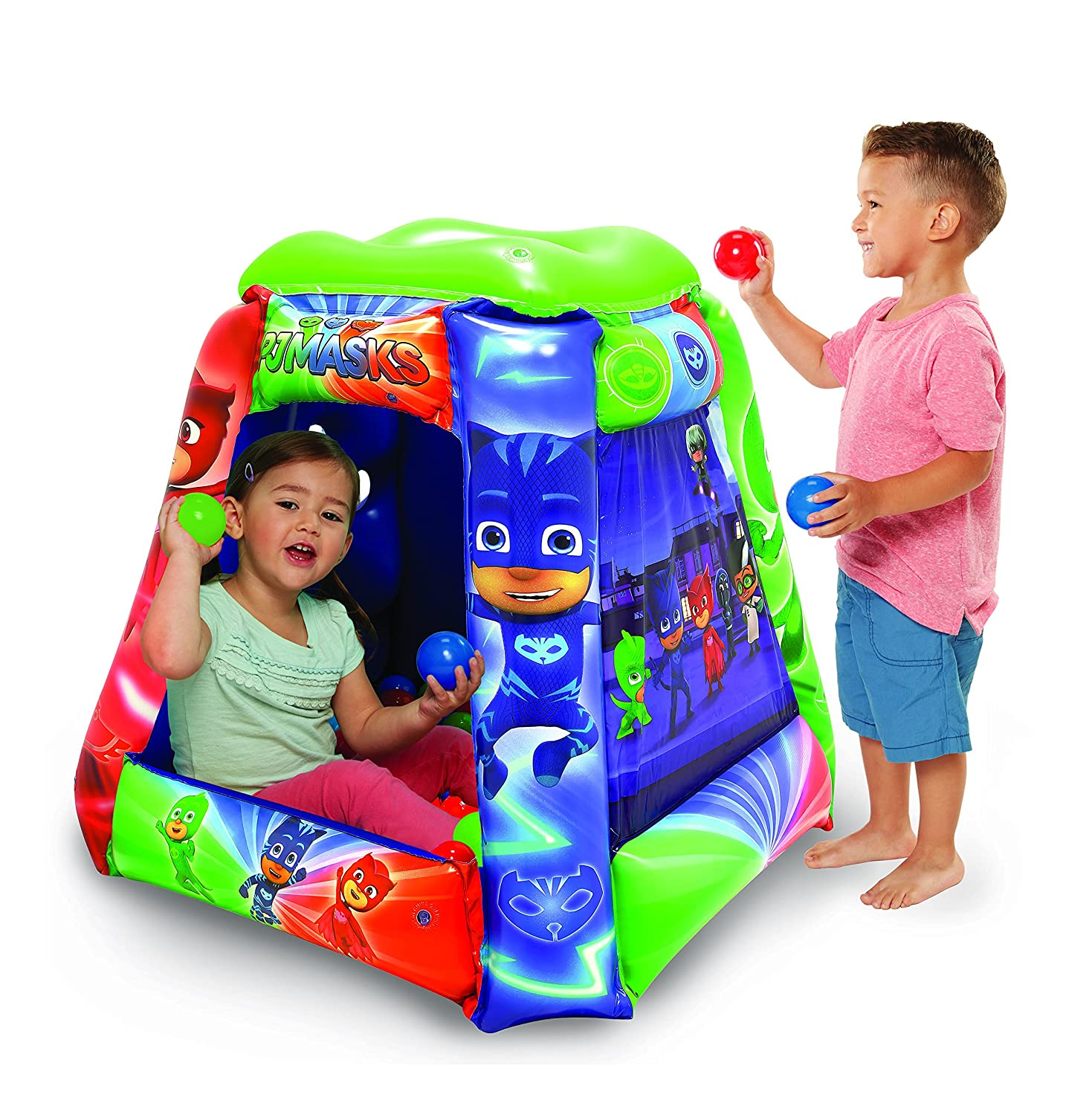 Amazon PJ Masks Play Land Playset with 20 Balls Toys & Games