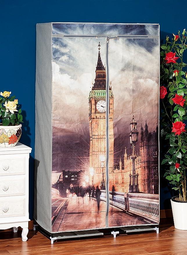 Mueble armario de tela TNT gráfica Big Ben 36726 guardarropa ...