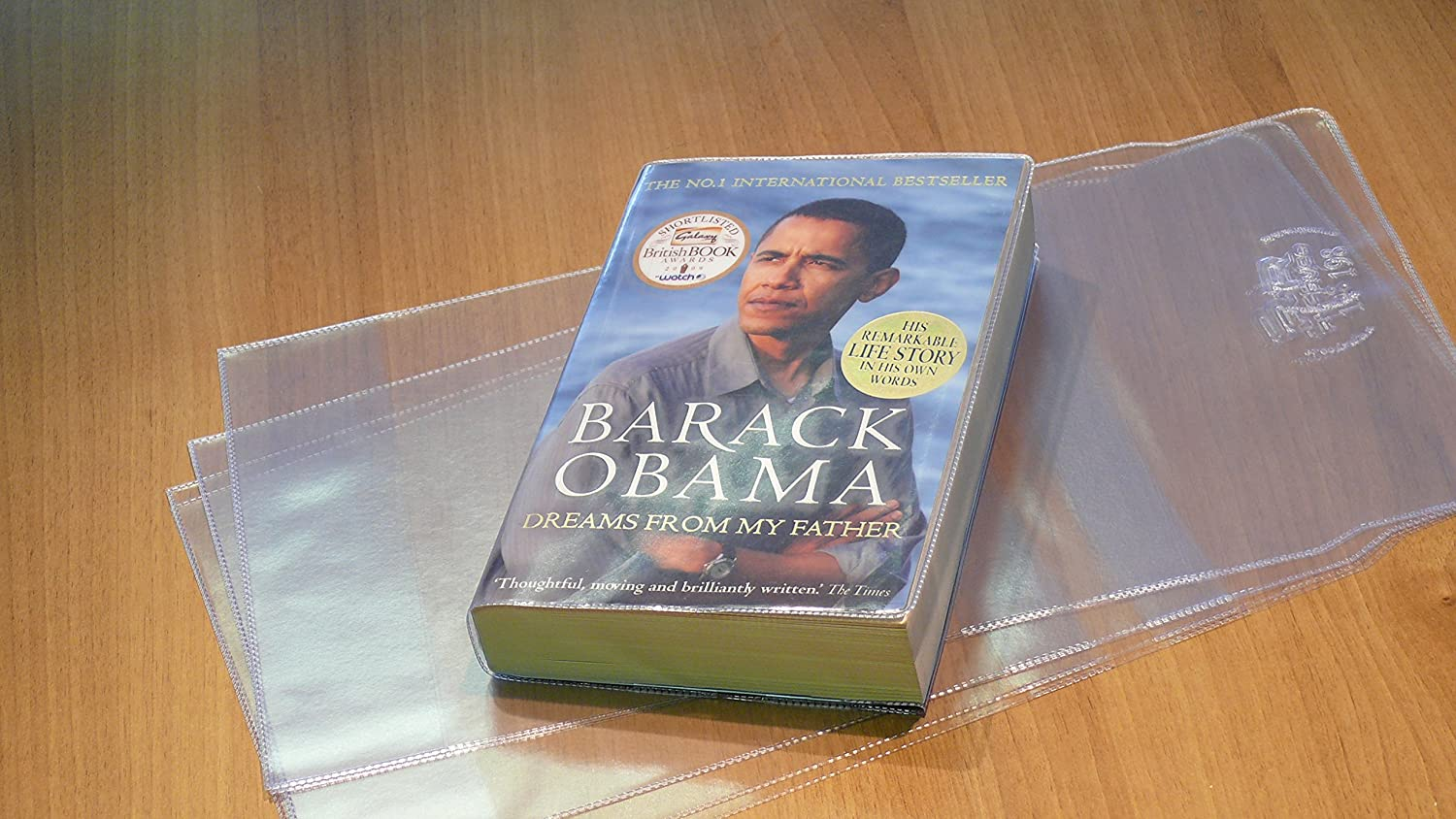 ClearShield Removable Plastic Book Cover (max Height 198mm x max Width 310mm) Ryco Book Protection Services