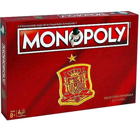 Winning Moves Monopoly Selección Española (82066), multicolor (ELEVEN FORCE: Amazon.es: Juguetes y juegos