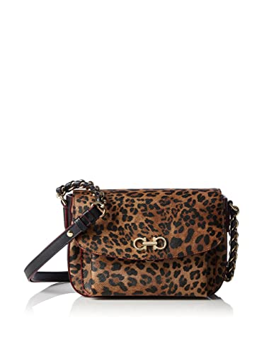 a3cb48a05a9733 Salvatore Ferragamo handbag Handle Shoulder Leopard: Amazon.co.uk ...
