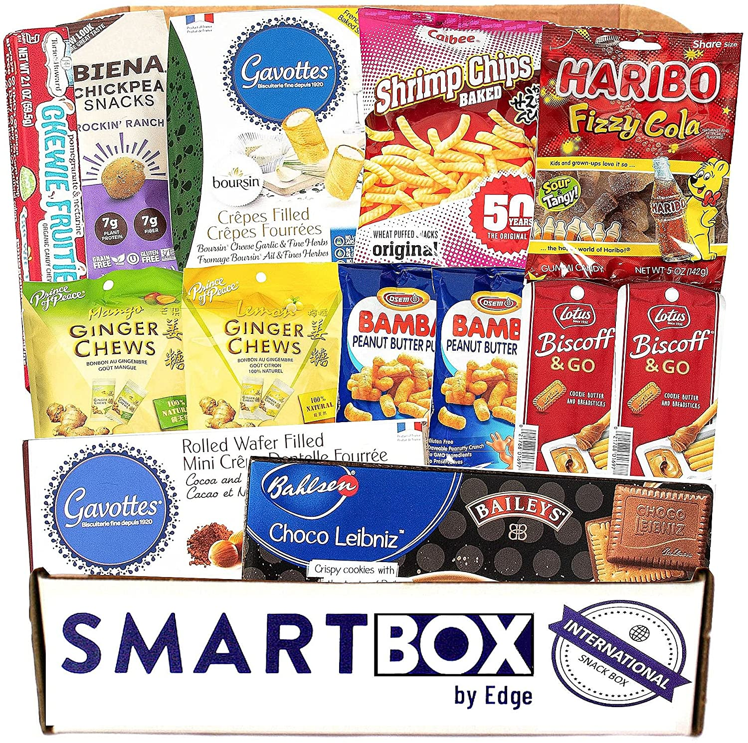 Jumbo International Snack Box and Care Package | Gourmet Global Candy and Snacks Set | Packed with Premium Treats and Candy - European, Asian, and South American!