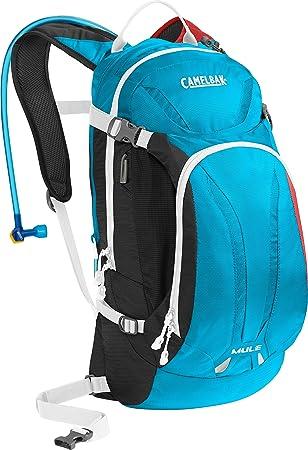 CamelBak Mochila Hidratación Mule - 9 Litre (with 3 Litre Reservoir) Charcl Atom (Default, Azul): Amazon.es: Deportes y aire libre