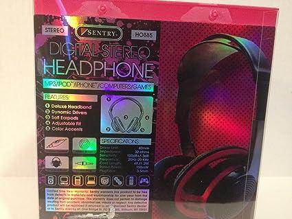 91jfFRhsQtL._SX425_ amazon com sentry studio style digital headphones color varies  at gsmx.co