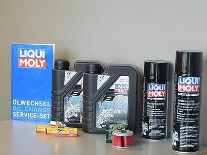 Mantenimiento Set Benelli TnT 125 Aceite de aceite Bujía Service Inspección ölwechsel