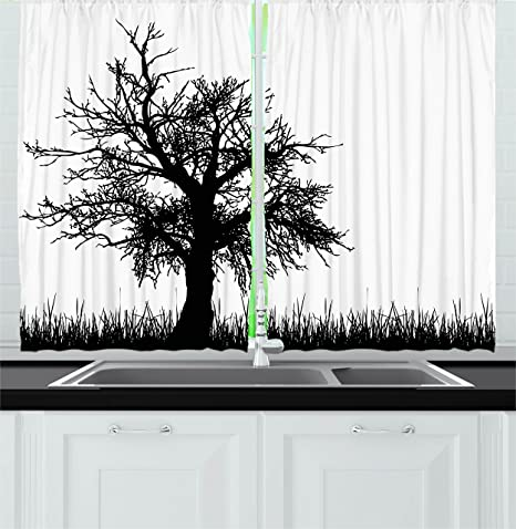 Psychedelic Decor cortinas por Ambesonne, música Tocadiscos figura ...