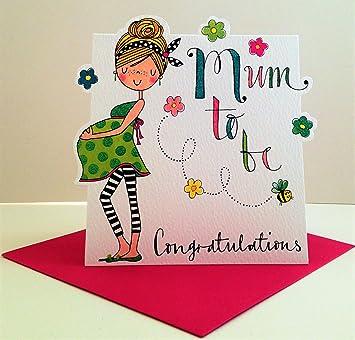 Rachel Ellen máma para felicitaciones tarjeta ser: Amazon.es ...