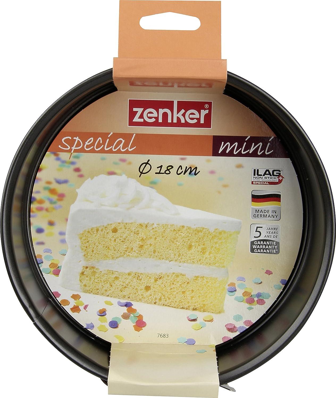 Zenker 7683Special Mini Springform 7.09 Black