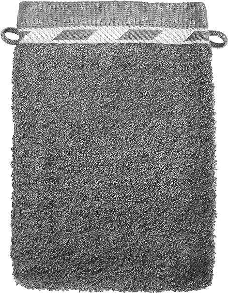 SANTENS OPTA - Manoplas de baño (2 Unidades, algodón), Color Gris ...