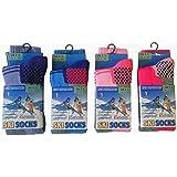 Chaussettes de Ski Lot de 4 Long Thermique Haute Performance Enfants