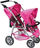Bayer Chic Vario 200068987Double Buggy Hot Pink Pearls