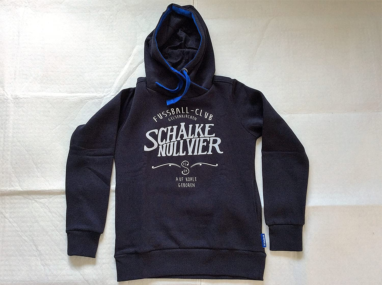 FC Schalke 04 Damen Kapuzen Sweat-Shirt Nullvier