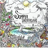 Mein Sommerspaziergang: Ausmalen und durchatmen: 2