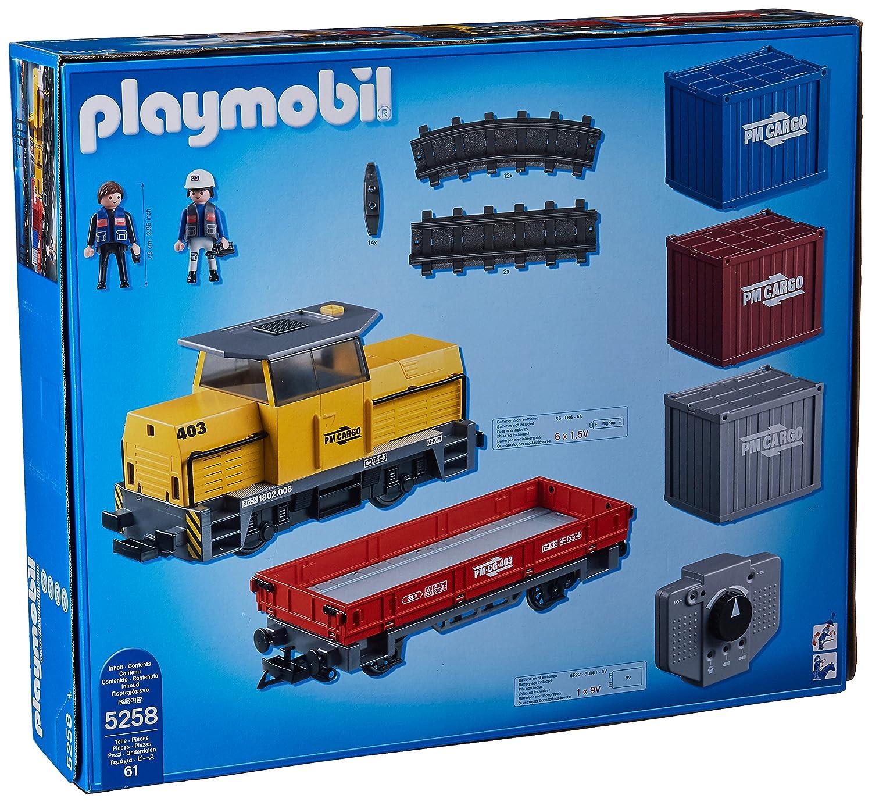 Tren Radiocontrol5258 Mercancías Con Playmobil De LUVGjSpMzq